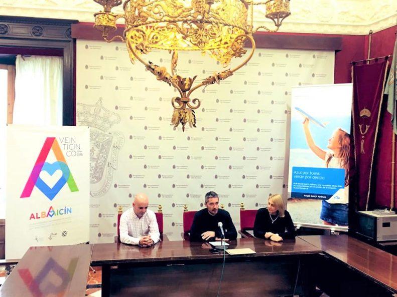 KLM Press Conference in Granada