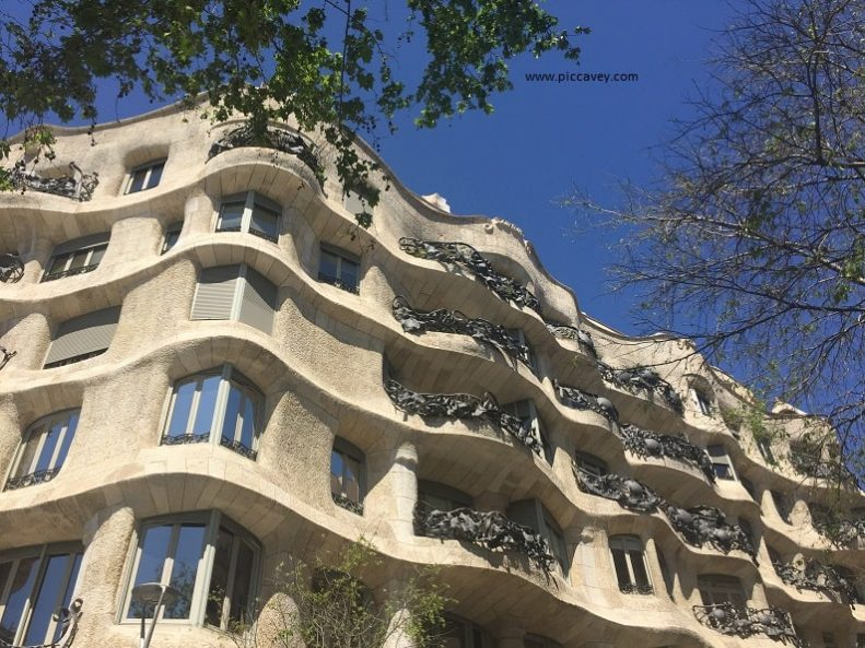 La Pedrera Casa Mila Barcelona Spain Gaudi
