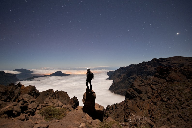 La Palma Mar de Nubes Stargazing in Spain