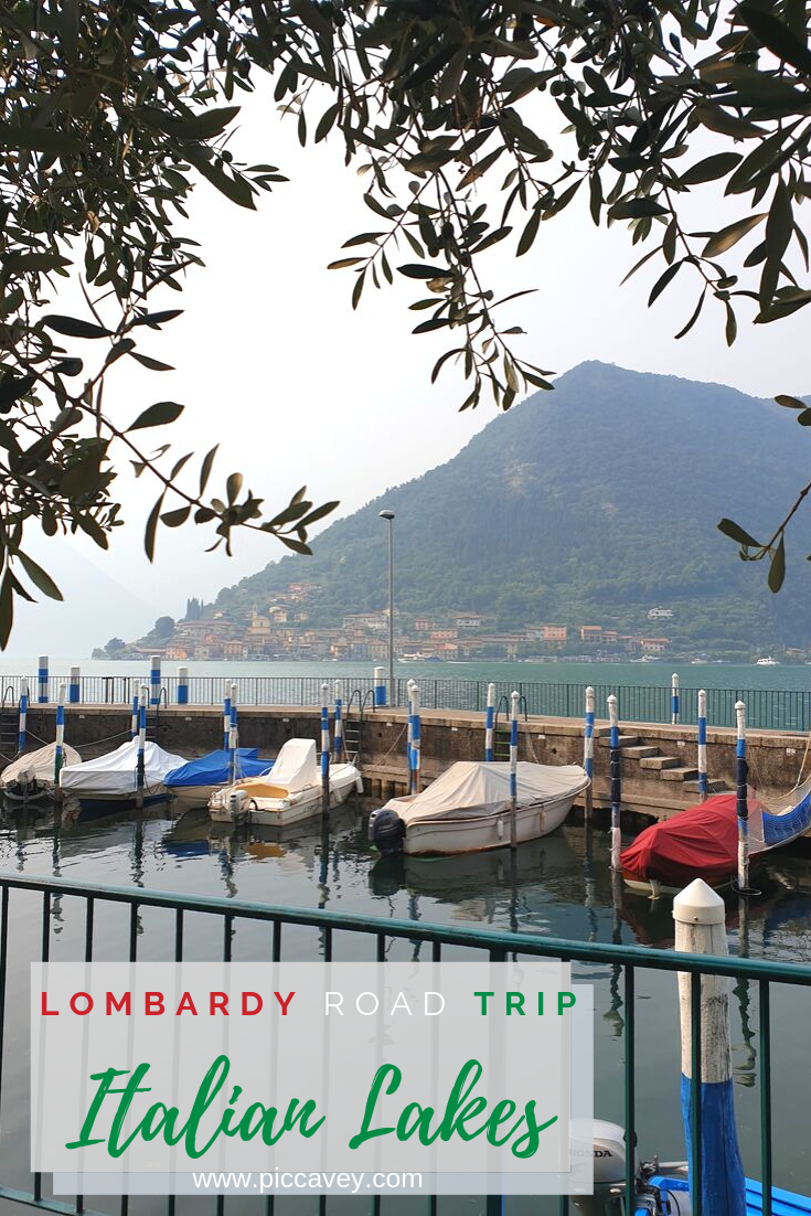 Lake Iseo Lombardy Italy