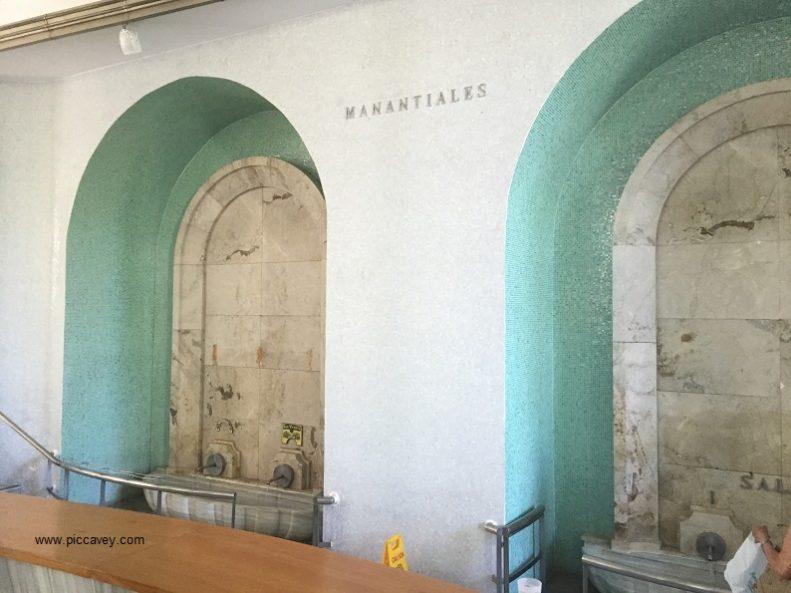 Lanjaron Spa Waters Granada Spain