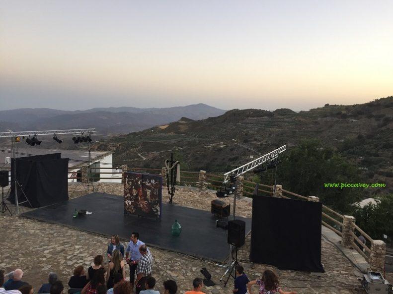 Laroles Theatre in Spain