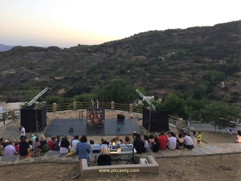 Laroles Theatre Festival Alpujarras Granada