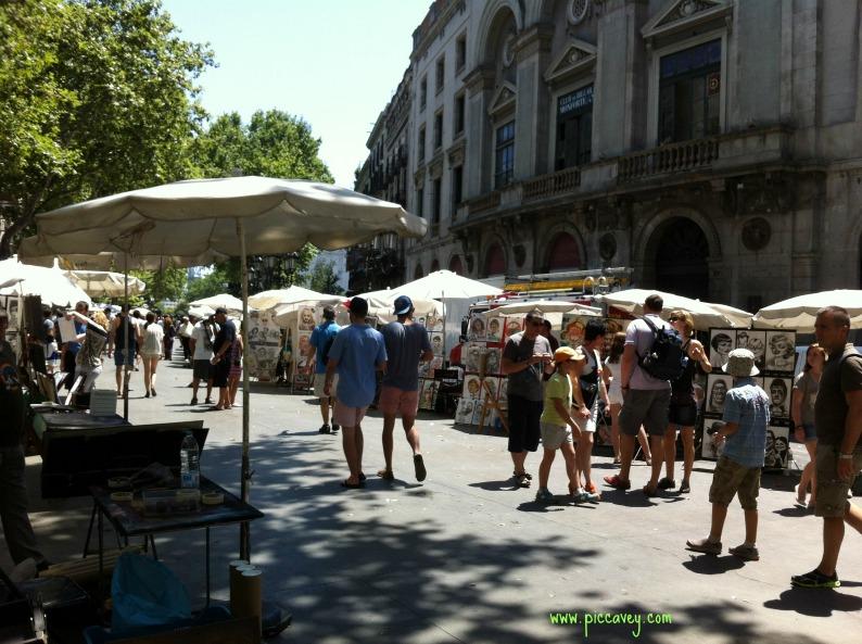 Las Ramblas Barcelona Spain