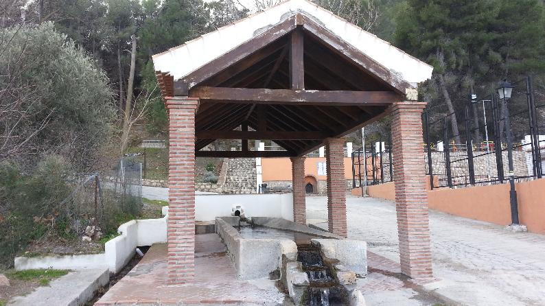 Hiking in Lecrin Valley Lavadero Pinos del Valle Granada