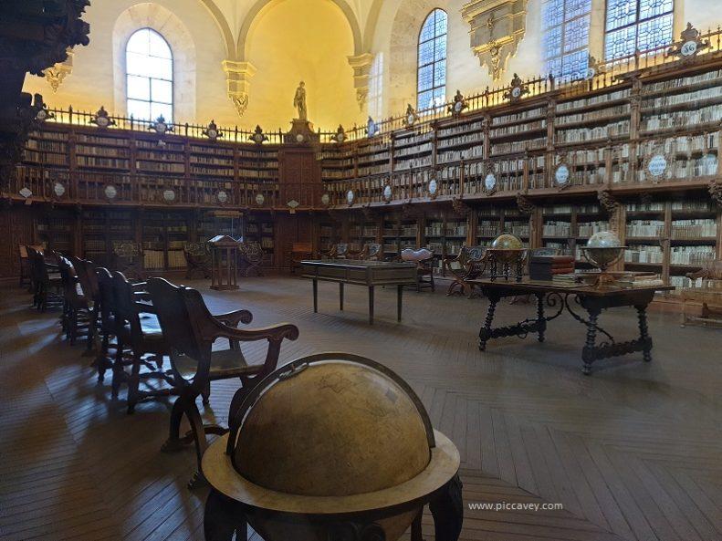 Library Salamanca University Spain