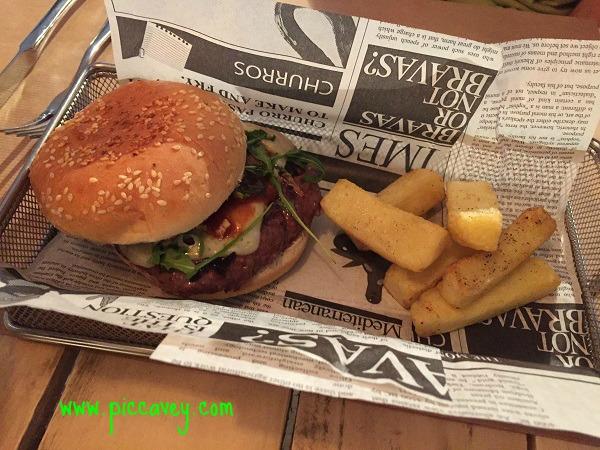 Lio granada Gourmet burger Granada Spain
