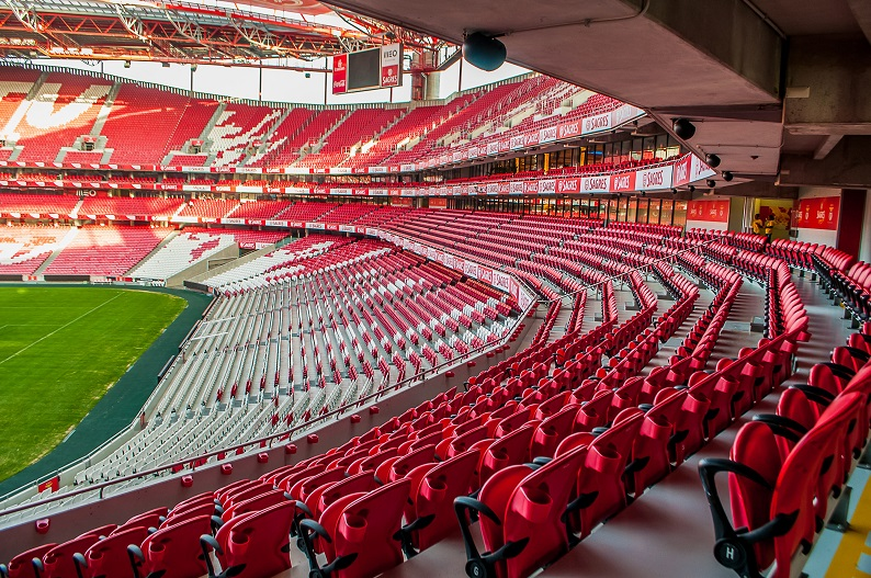 Lisbon Stadium Benfica by Martha Dominguez de Gouveia unsplash