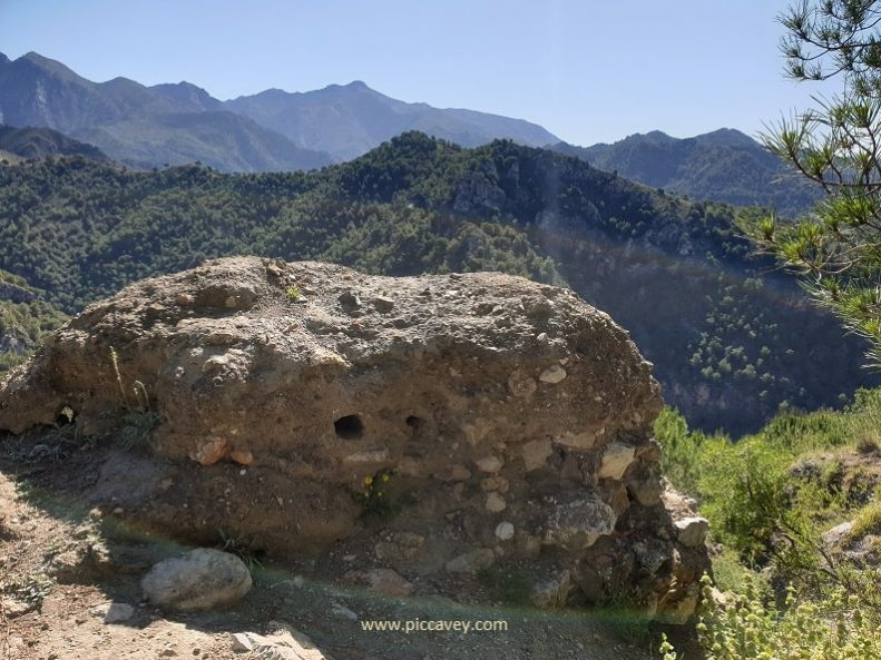 Lizar Castle Sierra de Tejada Almijara Axarquia Malaga
