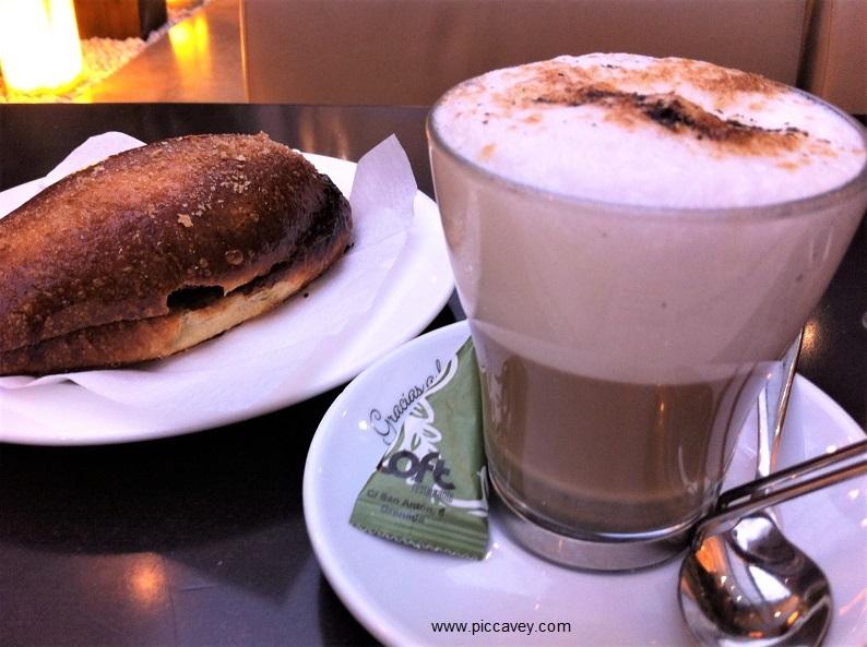 Eat in Granada Spain Coffee