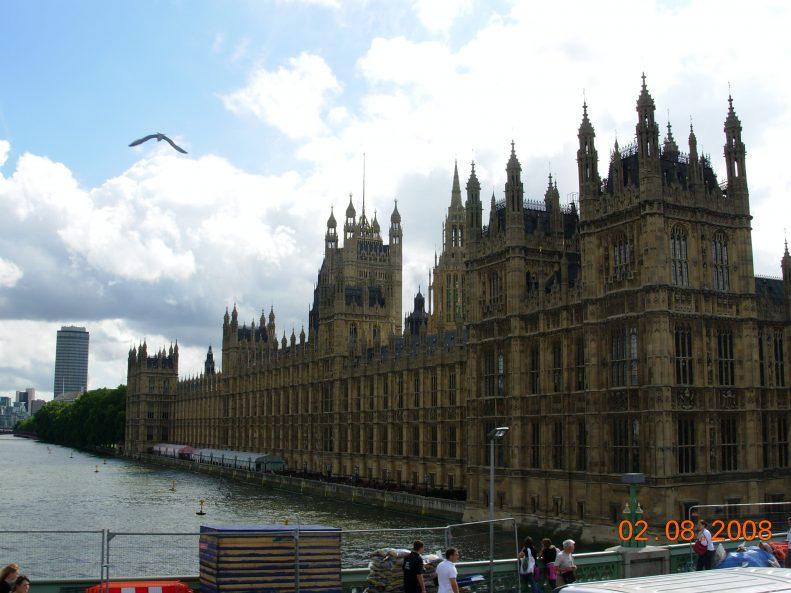 London Embankment England UK Staycation