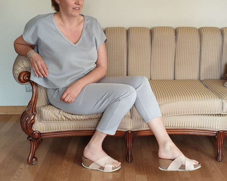 Loungewear Silver Grey