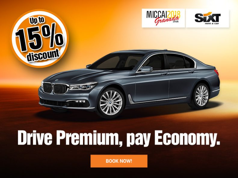 MICCAI Granada Spain Official partner SIxt