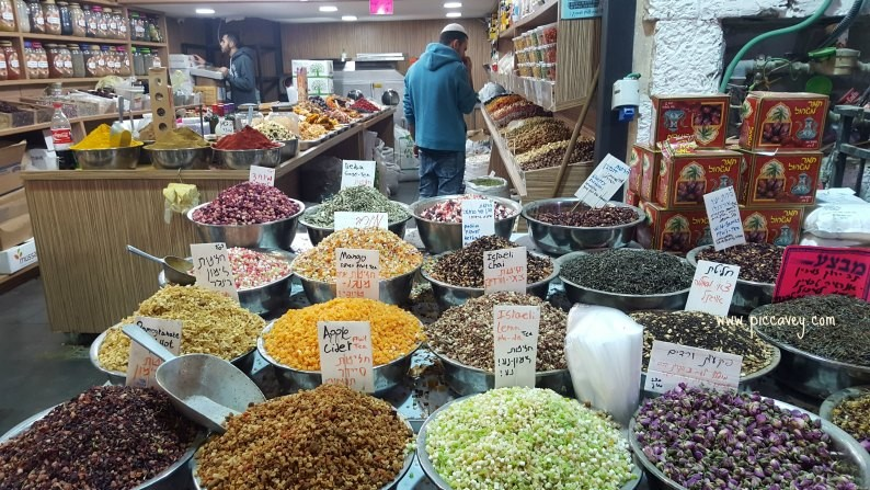 Machane Yehuda Market Jerusalem by piccavey