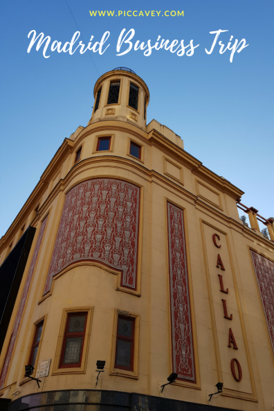 Madrid Business Trip
