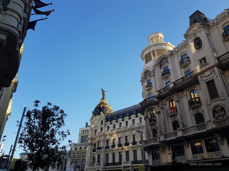 Gran Via Madrid Spain by Piccavey Spain blog