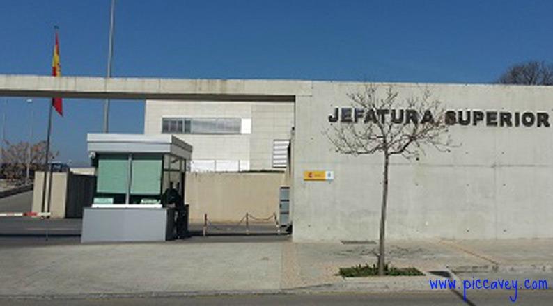 Main Police Station Granada Spain