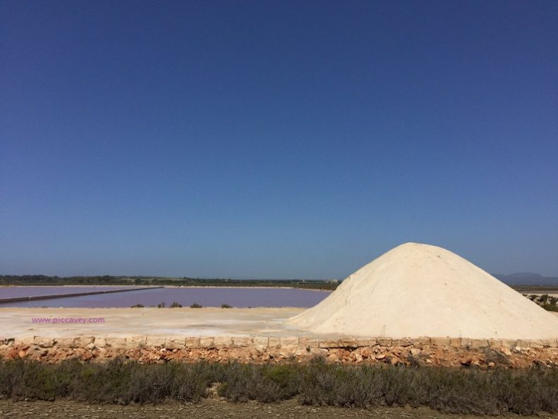 Majorca Salt flats salines Es trenc
