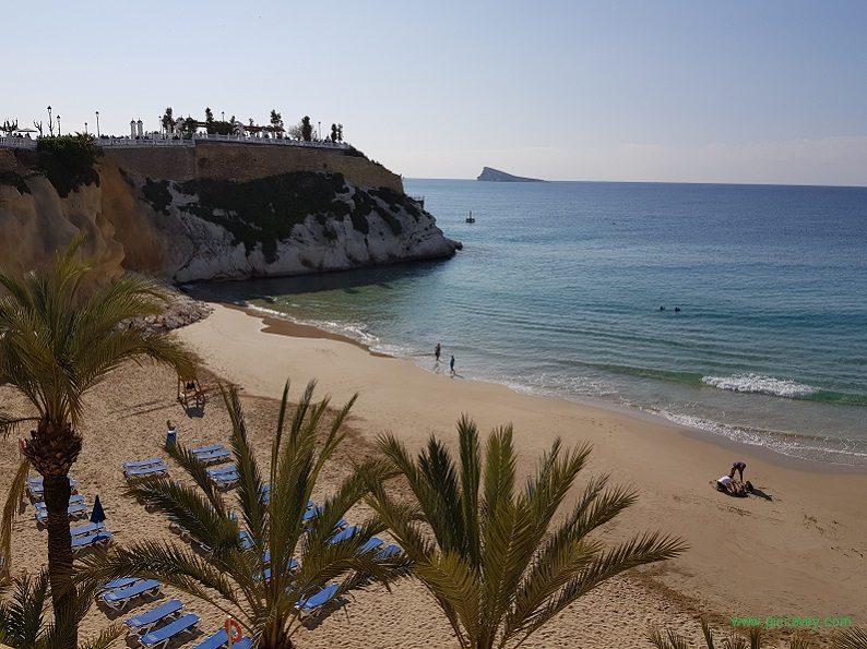 Mal Pas Beach Benidorm Spain