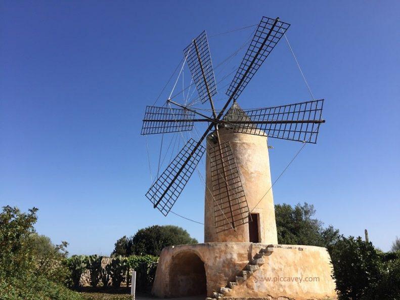 Mallorca Typical Windmill