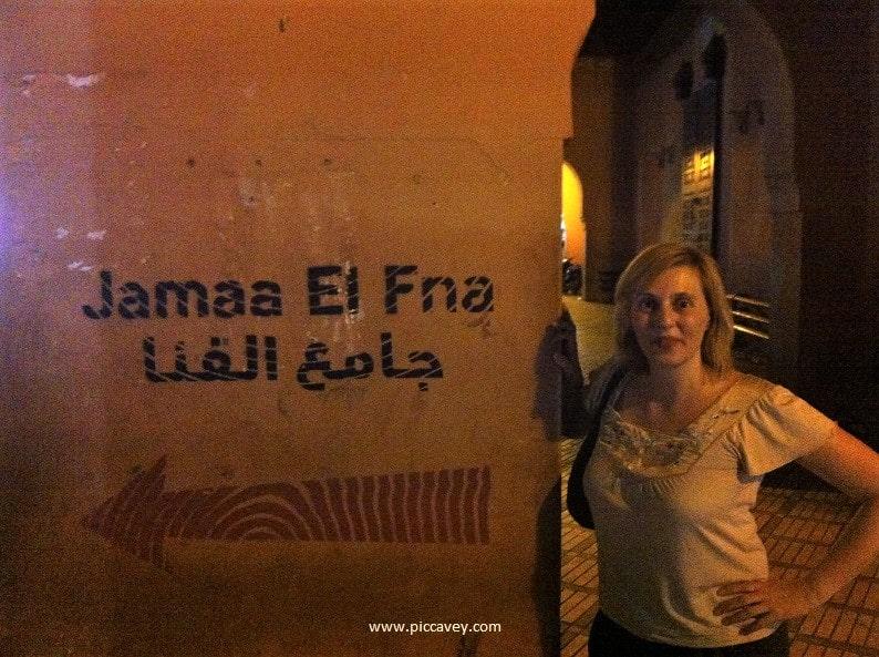 Jamaa El Fna Marrakesh Morocco