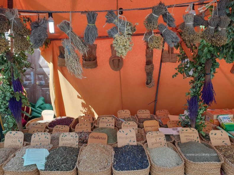 Medieval Market Santa Fe Granada Capitulations