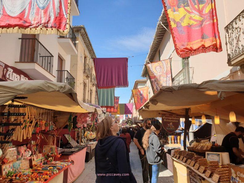 Medieval market Santa Fe Capitulations