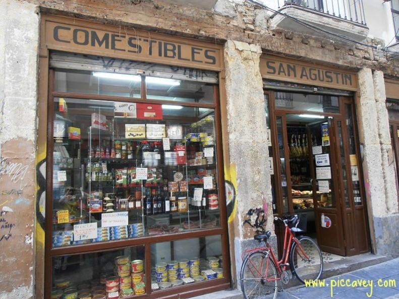 traditional shops Granada Spain