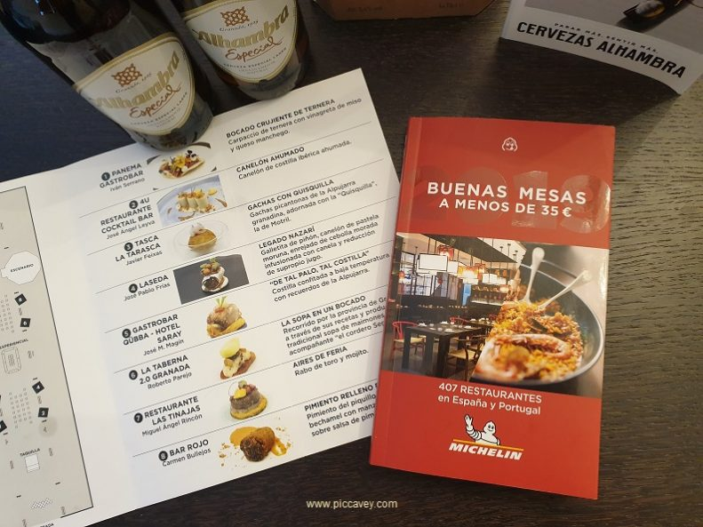 Michelin Bib Gourmand Red Guide Spain