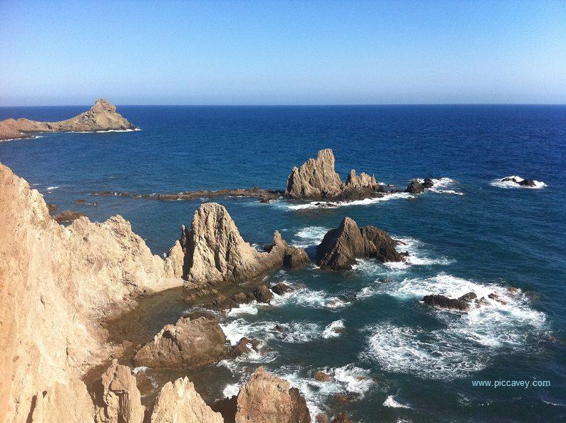 Mirador de las Sirenas Cabo de Gata Almeria