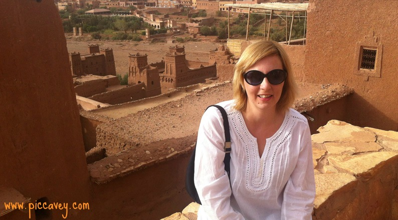 Inside the Kasbah Ait Benhaddou Morocco