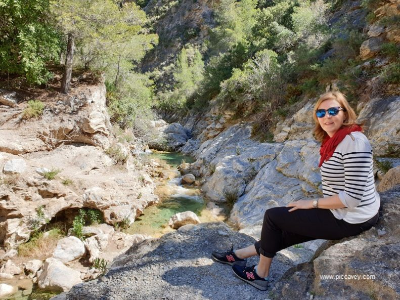 Molly Rio Verde Otivar Granada Spain