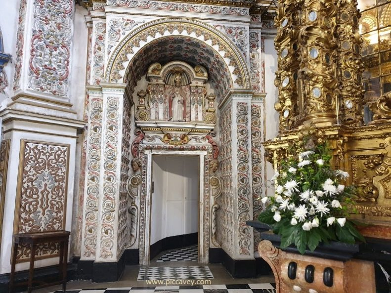 Monasterio Cartuja Granada inside