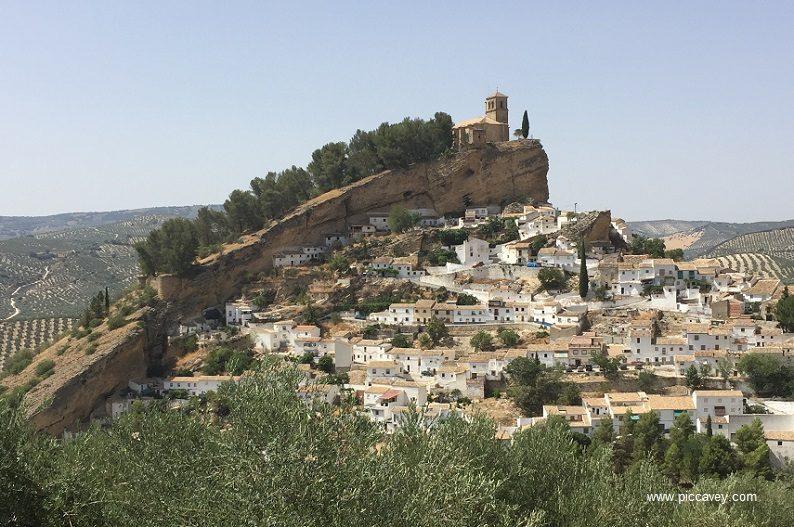 Montefrio in Granada Spain