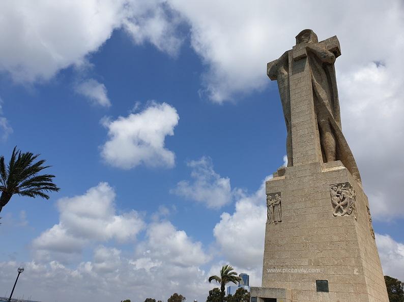 Monument to Colon Huelva Spain