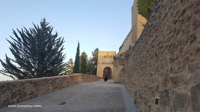 Mota Fortress in Alcala La Real Spain by Piccavey