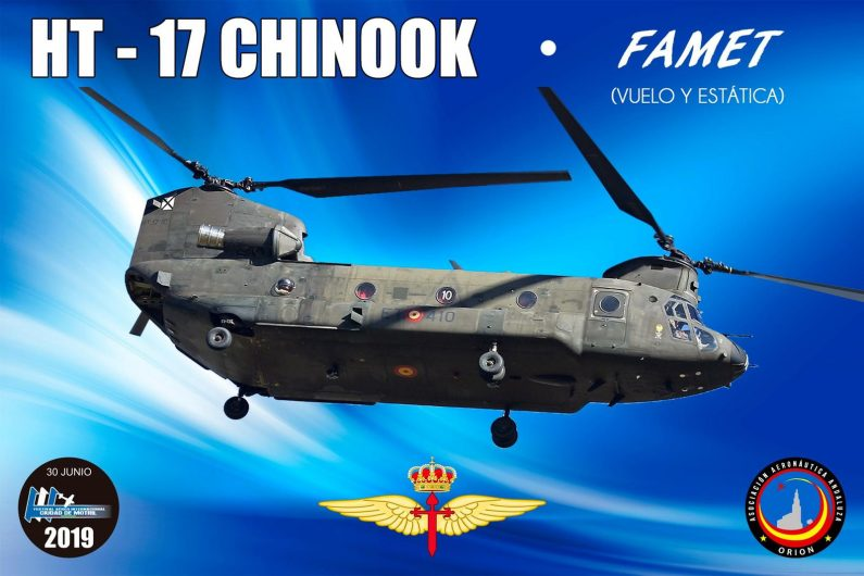 Motril Air Show Spain Chinook Helicopter