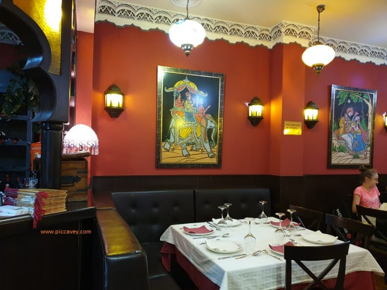 Muglia Indian Restaurant Granada Spain halal
