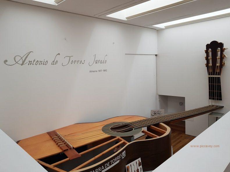 Museo de la Guitarra Almeria Guitar Museum