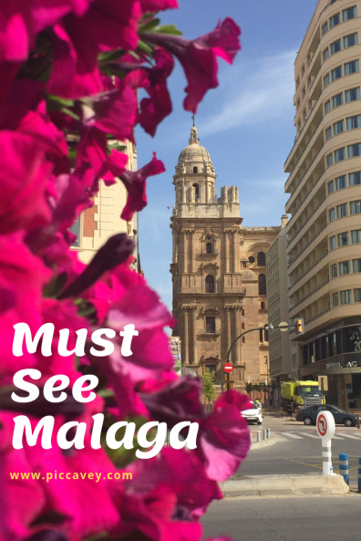 Malaga Cathedral in Spain