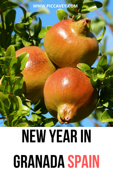 NEW YEARS IN GRANADA SPAIN