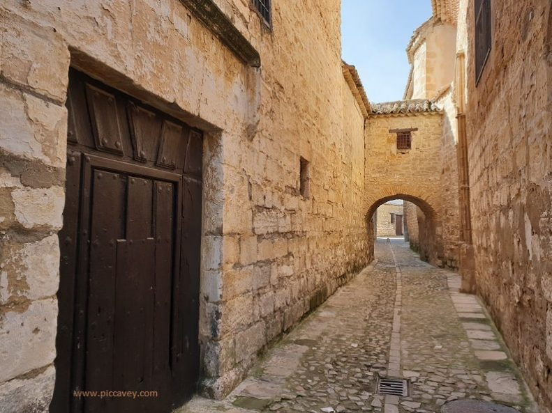 Narrow Streets in Baeza Andalucia