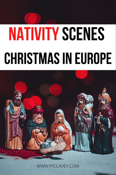 Nativity Scenes in Spain Italy Europe
