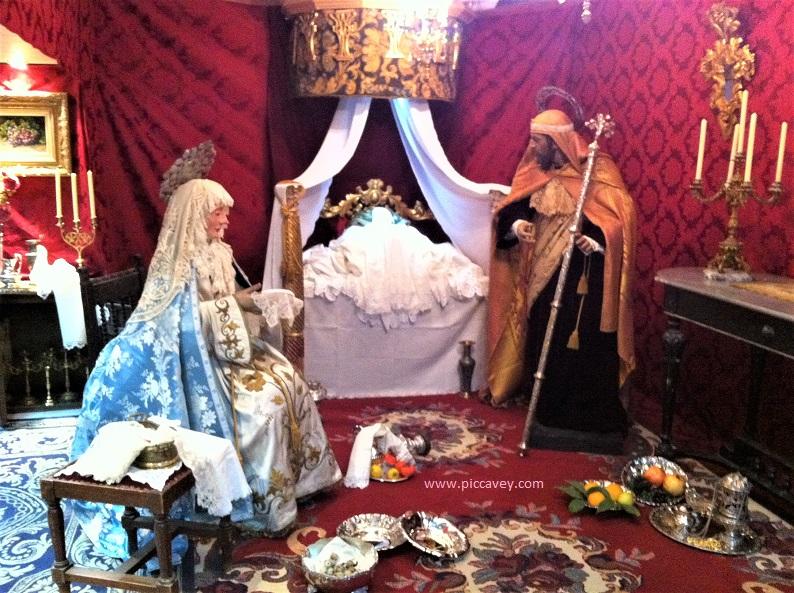 Nativity in Spain Neopolitan Scene in Almeria