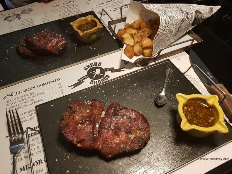 Negro Carbon Restaurants in Granada Spain