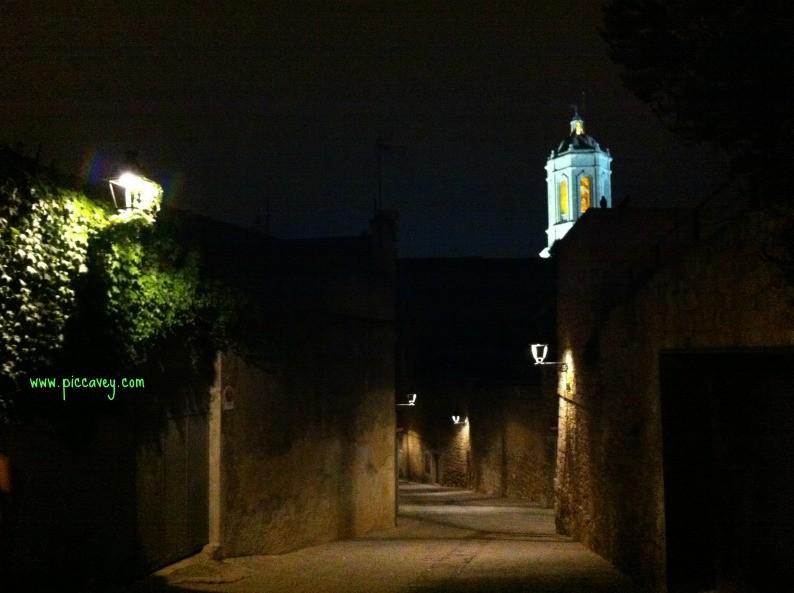 Nightime in Girona