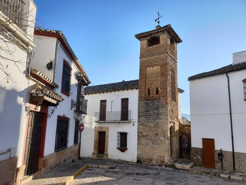 Old Mosque Minaret Ronda Spain Blog