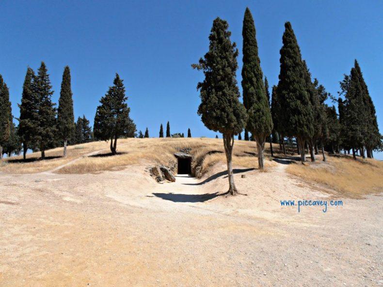 Dolmen Antequera UNESCO sites in Andalucia
