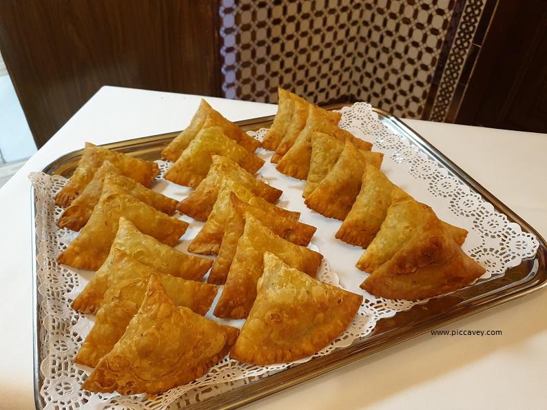 Pakora Muglia granada Indian food