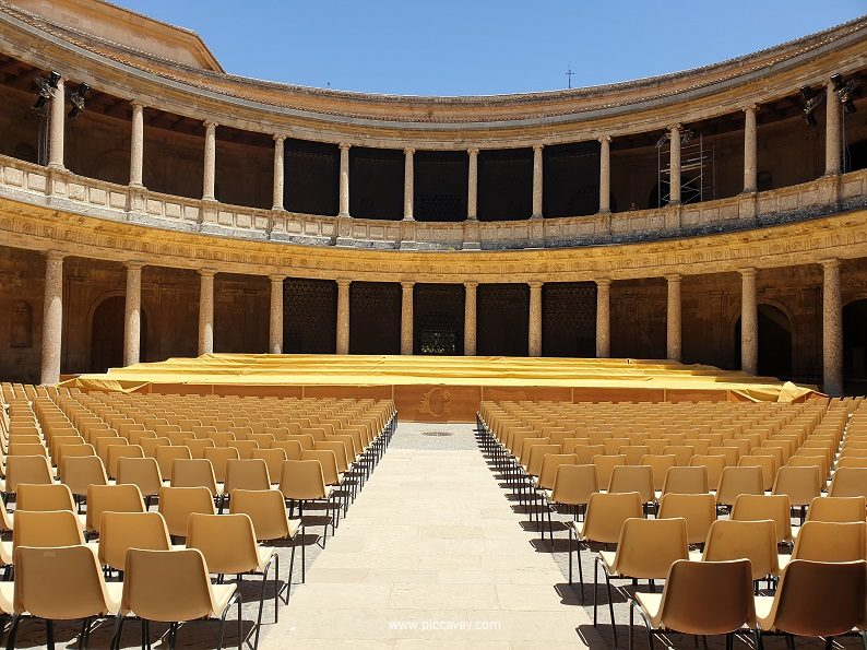 Palacio Carlos V Festival Granada Alhambra FEX